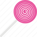 confectionery, lollipop, lolly, spiral, sweet icon