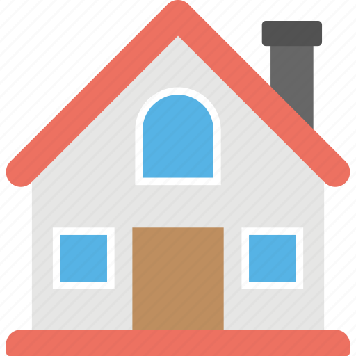 cottage, home, house, house exterior, lodge icon
