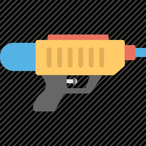 baby toy, toy gun, toy pistol, water gun, water pistol icon