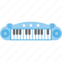 piano toy, kids toy, electrical toy, electronic piano, musical toy icon
