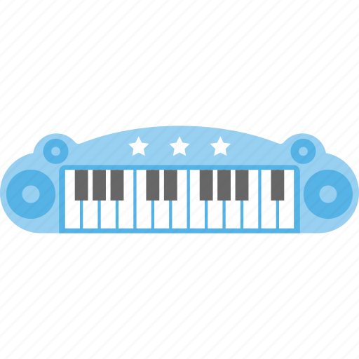 electrical toy, electronic piano, kids toy, musical toy, piano toy icon
