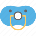 binky, dummy, pacifier, soother, teether icon