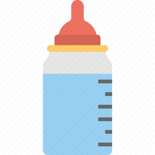 baby bottle, feeder, feeding bottle, nipple, plastic bottle icon