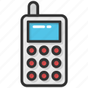 cordless phone, kid toy, phone toy, transceiver, walkie talkie icon