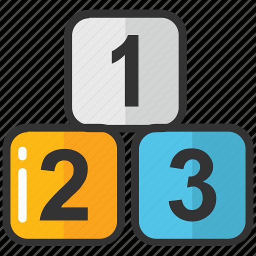 abc blocks, alphabet blocks, education, english, kindergarten icon