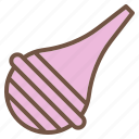 aspirator, baby, suction, tool icon