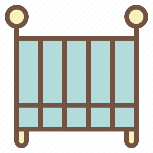 Baby, bed, cribs, sleep icon - Download on Iconfinder