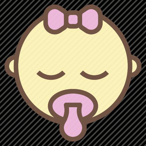 Baby, girl, kid, newborn icon - Download on Iconfinder