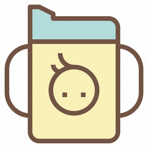 Baby, cup, drink, sippy, suck icon - Download on Iconfinder