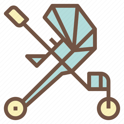 Baby, cart, stroller, trolley icon - Download on Iconfinder