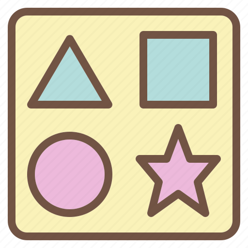 Baby, brain, geometry, puzzle icon - Download on Iconfinder
