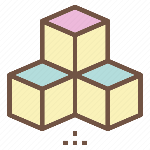 Baby, cube, cubic, puzzle, toy icon - Download on Iconfinder