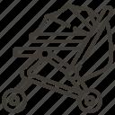 cart, stroller, newborn, child, baby, childhood, kid icon