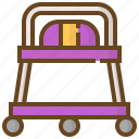 baby, cart, child, childhood, kid, newborn, stroller icon