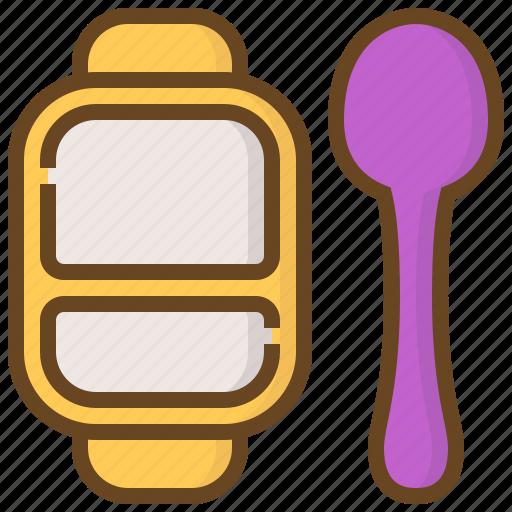 Baby, child, childhood, dish, kid, newborn, spoon icon - Download on Iconfinder
