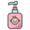 lotion, shampoo, soap, bathing, baby