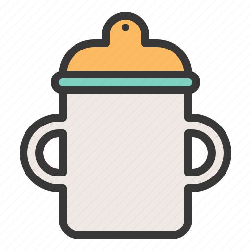 babe, baby, baby cup, child, childhood, infant icon