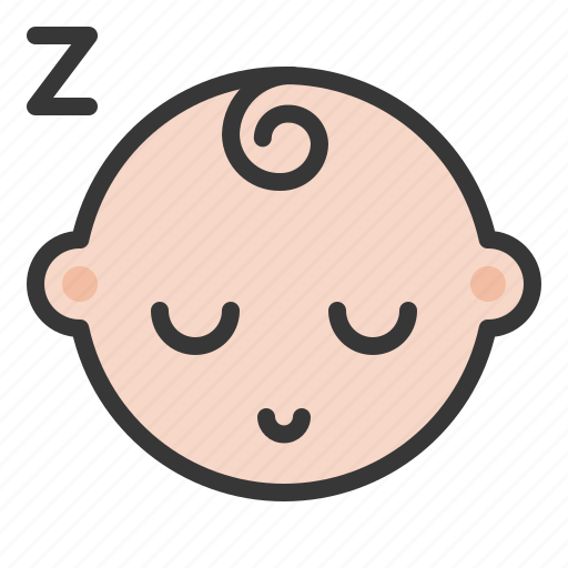 babe, baby, child, childhood, infant, sleep icon