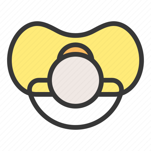 babe, baby, child, childhood, infant, pacifier, soother icon