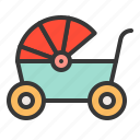 infant, babe, baby wagon, child, baby, childhood