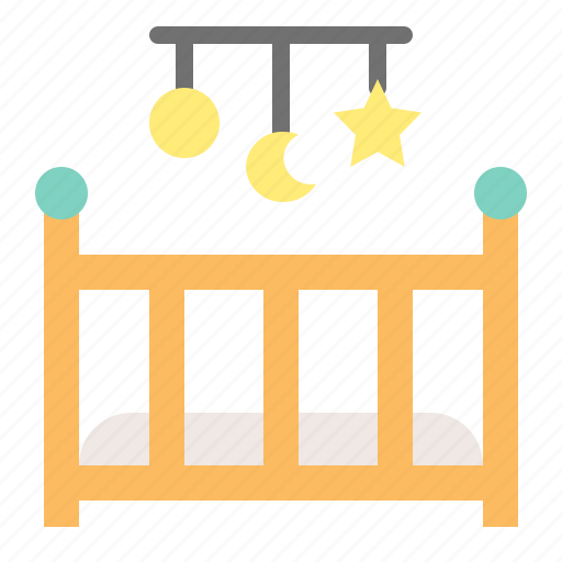 Babe, baby, baby cot, child, childhood, hanging mobile, infant icon - Download on Iconfinder