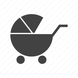 baby, carriage, family, happy, mother, pram, stroller icon