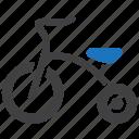 bike, child, kid, tricycle icon