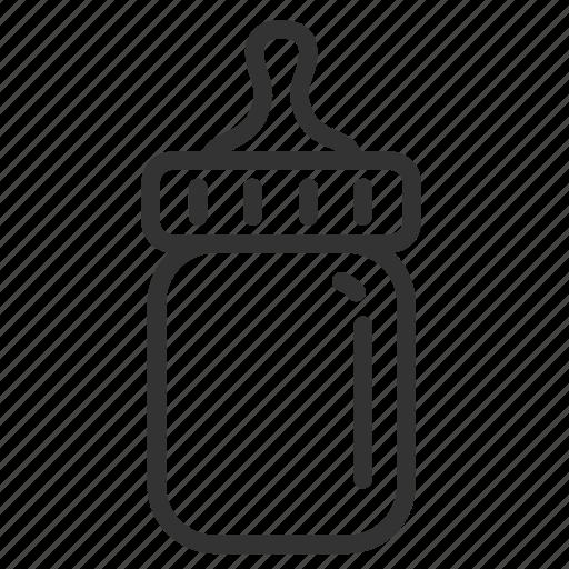 baby, bottle, child, kid, milk bottle icon