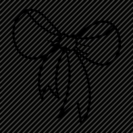 clothe, love, ribbon, sweet, tag icon