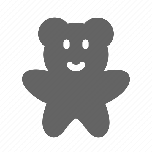 bear, cookie, teddy, toy icon