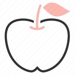 apple, food icon
