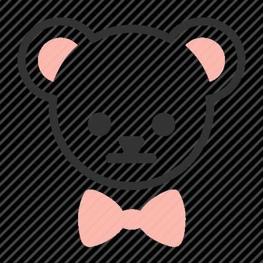 bear, teddy icon