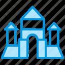 block, building, castle, constructor, cube, wooden icon