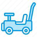baby, car, push, stroller, toy icon