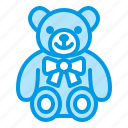 baby, bear, soft, teddy, toy icon