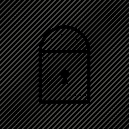 lock, password icon