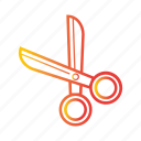 cut, cutter, cutting, equipment, school, scissors, tools icon