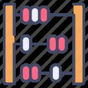 abacus, calc, calculator, education, math
