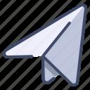 paper, paperplane, plane, send