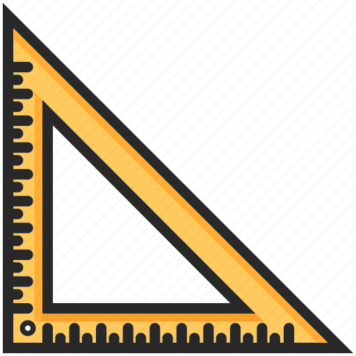back to school, education, ruler, study icon
