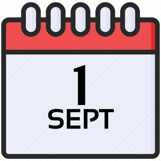 back to school, education, first september, study icon