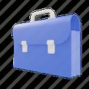 suitcase, school, education, bag, book, student, briefcase