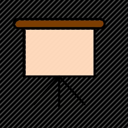 board, presentation, slide icon