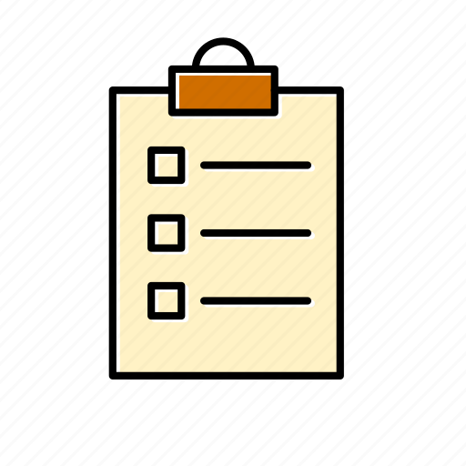 checklist, document, file, files, list, note, sheet icon