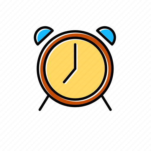 alarm, alert, bell, clock, schedule, time, timer icon