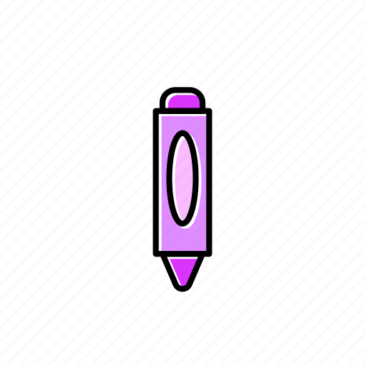 art, crayon, draw, drawing icon