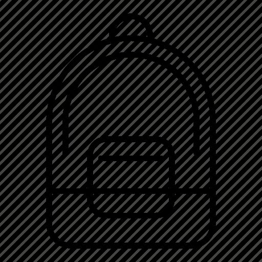 bag, education, school, student, university icon