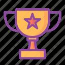 trophy, award, winner, medal