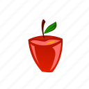 apple, food, fruit, meal, vegetable icon
