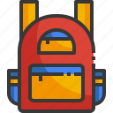 bag, school, education, high, backpack, baggage